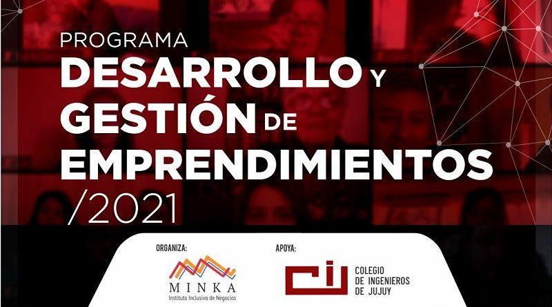 Minka – Programa Desarrollo y Gestión de Emprendedores 2021