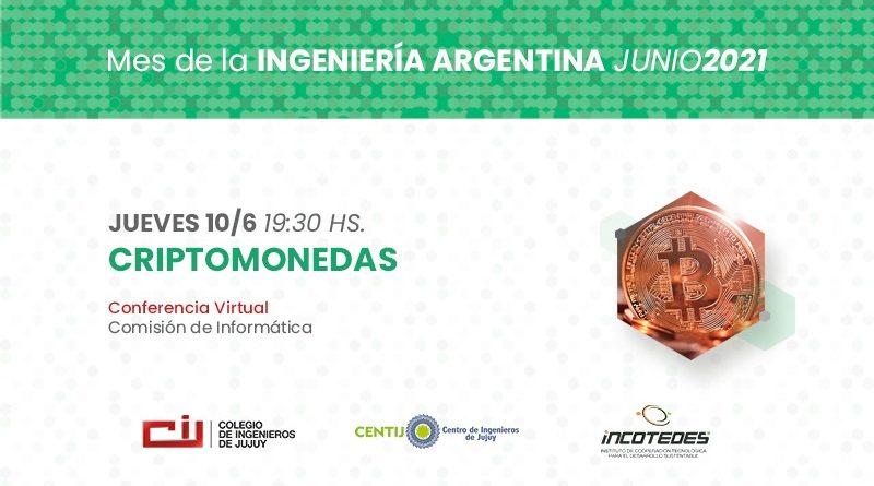 Conferencia Virtual CRIPTOMONEDAS