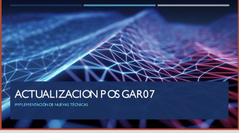 Actualización P OS GAR07