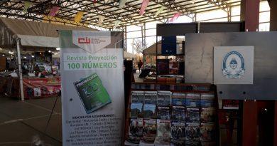 Proyección en la Feria del Libro